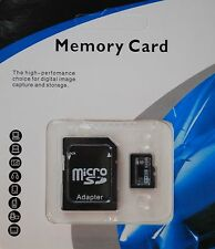 32GB Micro SD Card TF Flash Memory MicroSD MicroSDHC Class 10 + Free Adapter NEW