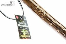 New Hand Carved Walking Stick Hiking Wood Wooden Cane Staff Trekking Poles 50""