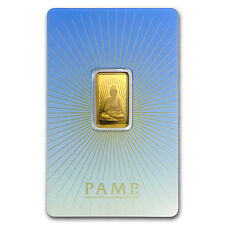 5 gram Gold Bar - PAMP Suisse Religious Series (Buddha) - SKU #94448