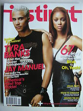 TYRA BANKS & JAY MANUEL   AMERICA'S NEXT TOP MODEL  January 2004 INSTINCT