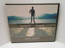 Joyce Meyers Ministries: Growing Up Without Giving Up - 5 Audio CDs