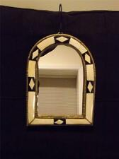 Moroccan Mirror Inlayed with Camel Bone