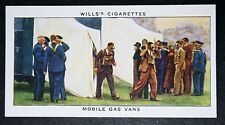 British Home Office Mobile Gas Vans   World War 11   1930's Vintage Card # VGC