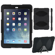 Originale Griffin Survivor Military Duty Custodia Rigida Cover iPad Air 1 Nero