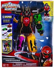 POWER RANGERS SUPER MEGAFORCE DELUXE DX LEGENDARY MEGAZORD ACTION FIGURE