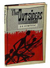 THE OUTSIDERS by S.E. Hinton ~ First Edition 1967 ~ 1st Printing ~ Coppola Film