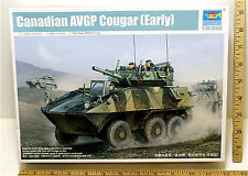 2010 Trumpeter Canadian AVGP Cougar Early Metal Gun 1:35 Plastic Model 01501 NIB