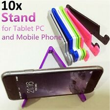 10 x Universal Foldable Mobile Cell Phone Stand Holder for SmartPhone & Tablet