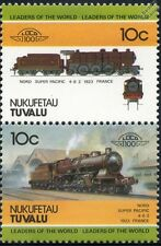 1923 NORD / SNCF SUPERPACIFIC 4-6-2 classe 3.1201-1290 / 231 timbres train / loco 100