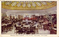 1927 CHICAGO. MARSHALL FIELD & COMPANY. STORE FOR MEN, MEN'S GRILL Sixth Floor