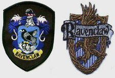 BRITISH  HARRY POTTER COLLECTION HOGWARTS SCHOOL HOUSE OF RAVENCLAW CREST  PATCH