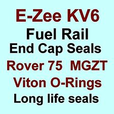 A* BEST KV6 Fuel Rail End Cap Seals Kit VITON O Rings for Rover 75 & MG ZT V6