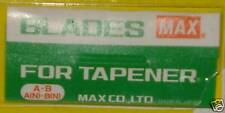 PK(3) SERRATED SPARE BLADES TO FIT MAX TAPENER MACHINE