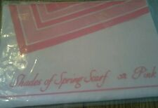 VINTAGE AVON SHADES OF SPRING SCARF MADE IN ITALY 1990 NEW IN ORIGINAL PACKAGING
