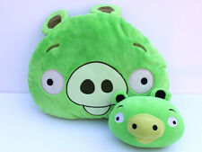 Angry Birds Green Pig Plush Pillow and Stuffed Animal Toy