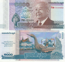 Billet banque CAMBODGE CAMBODIA KHMER 1000 RIELS 2013 NEUF UNC NEW