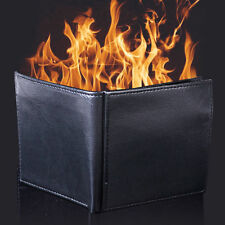 Magic Trick Flame Fire Wallet Leather Magician Stage Street Inconceivable Prop