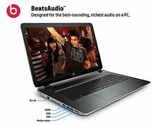 "NEW BeatsAudio HP Pavilion 17-f262nr 17.3"" Notebook A10 Quad-Core 6GB 500GB"