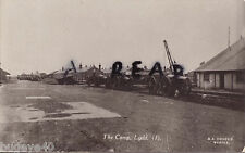 View of Heavy Artillery parked up in a military camp at Lydd Kent G A Cooper
