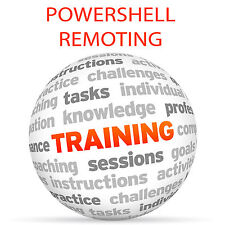 POWERSHELL remota-Video formazione tutorial DVD