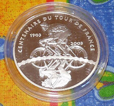 1,5 Euro 2003 Centenaire du tour de France ARGENT BE
