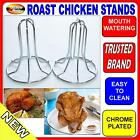 Roast; 2x Chicken Roasters; Chrome plated; Vertical roasting; Healthier cooking