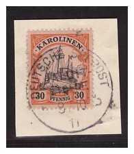 Karolinen  ° Jaluit Linie  b  8.10.11  Luxus Briefstück