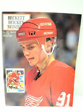Vintage Beckett Hockey Magazine May 1991