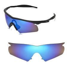 New Walleva Ice Blue Replacement Lenses For Oakley New M Frame Hybrid Sunglasses