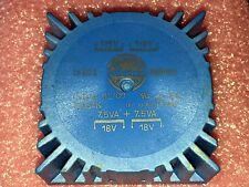 Talema 70054K Toroid Transformer 2x115V/230V 2x7.5VA/18V Symetrix 528e Power