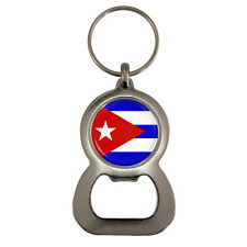 Cuban Flag Bottle Opener Keyring havana cuba república de cuba world cup NEW