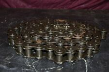 """120 ANSI Riveted Roller Chain 10 ft. 2.1"""" Width 1.5"""" Pitch"""