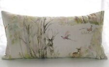 x Handmade Voyage Maison ENCHANTED FOREST fabric cushion cover 24 12
