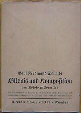 Paul Ferdinand Schmidt: Bildnis und Komposition vom Rokoko zu Cornelius