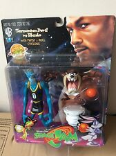 Rare Space Jam Warner Bros Tasmanian Devil Vs Blanko Sealed Figure Looney Tunes