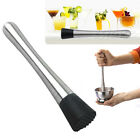 Stainless Steel Mojito Cocktail Bar Mint Muddler Classic Muddled Drink Tool New