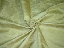 """~BTY~FABRICUT~100% SILK """"HIBISCUS SILK DAMASK""""~UPHOLSTERY FABRIC FOR LESS~"""