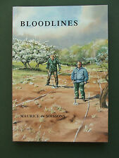 BLOODLINES – MAURICE de SOISSONS 2008 PB 1ST  NOVEL SET IN NORFOLK
