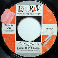DANISH LOST & FOUND 45 First Cut Is The Deepest / No No MOD BEAT Group w2416