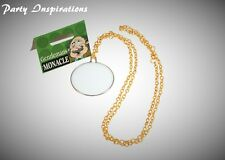 GB Old England Gentleman's Fake Monocle with Gold Chain Fancy Dress Accessory