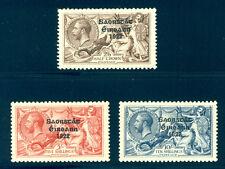IRELAND #77-79 Mint - 1925 Seahorse Set