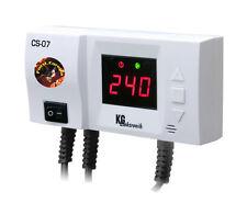 Steuergerät CS-07 Regelgerät für Umwälzpumpe mit Temperaturanzeige u. ANTIFREEZE