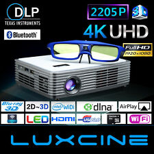 New Luxcine Portable 2205P Home Theater Cinema Bluray 3D LED DLP Mini Projector