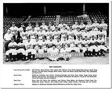 Brooklyn Dodgers- 1957 Last Team Photo -11x14 Size -Ebbets Field