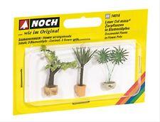 14016 Noch HO, Zierpflanzen in Blumenkübeln, Laser-Cut minis, Modelleisenbahn