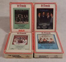 4 Statler Brothers  8-Tracks  Legend Goes on, 10th Anniversary, Christmas, Today