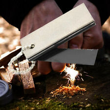 Camping Magnesium Stone Flint Fire Starter Lighter Outdoor Survival Tool
