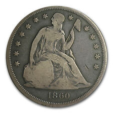 1840-1873 Liberty Seated Dollar VG