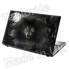 Ordinateur portable notebook Couverture Peau Sticker Autocollant Evil Wolf 204