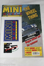 Mini World July 1994/ Somerford Minis/Mini Mania Making/Mini Sprint/Ayrton Senna